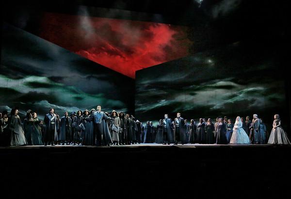 Nueva producción de Otello de Bartlett Sher. © Ken Howard/Metropolitan Opera.