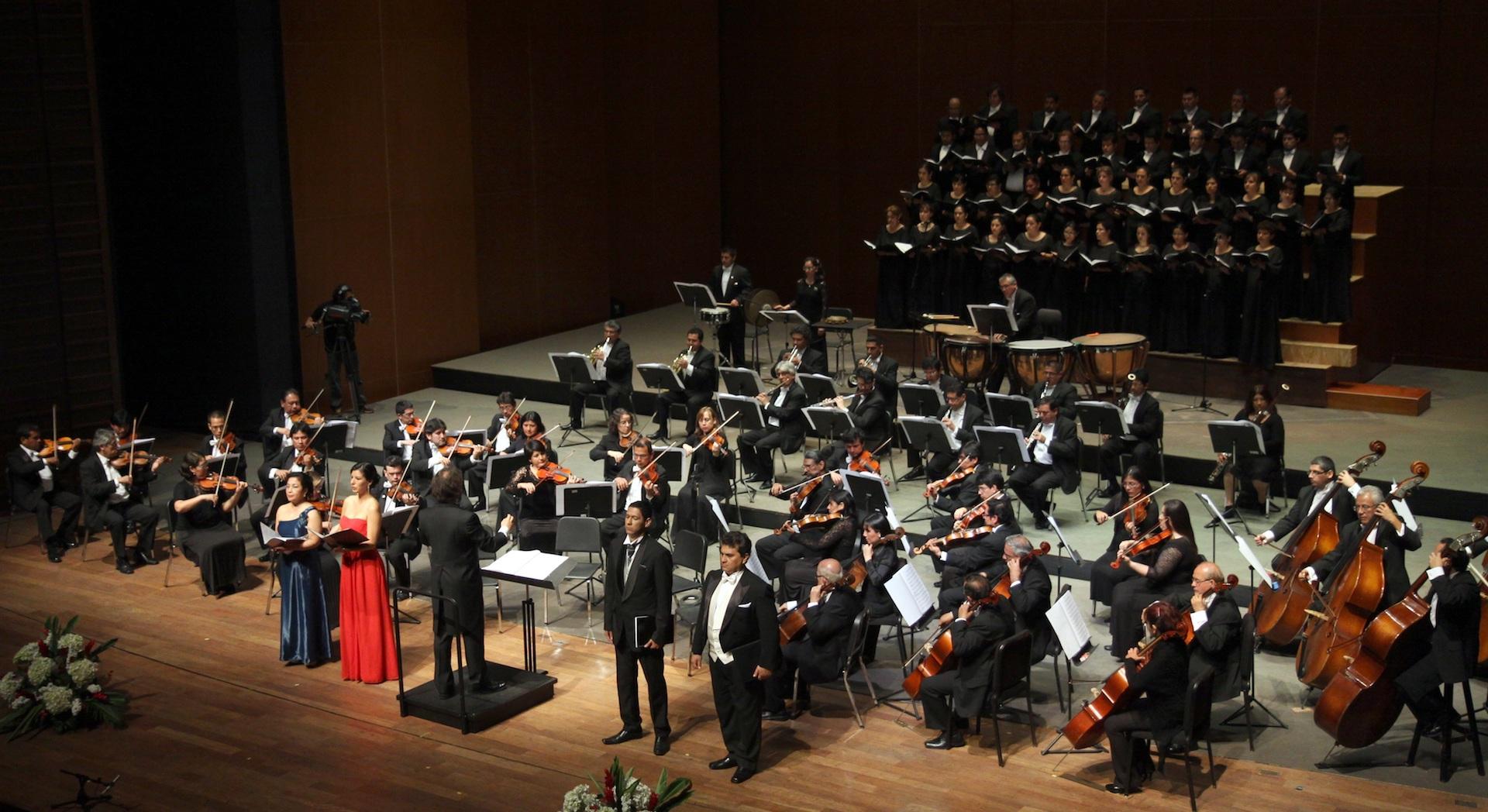 Coro Nacional y Orquesta Sinfónica Nacional