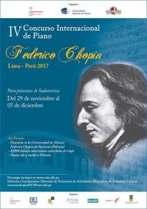 Concurso Federico Chopin cuarta edición