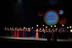 Premiación a lo mejor de la Ópera