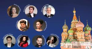Gala Inaugural del Mundial con Netrebko, Flórez y Domingo