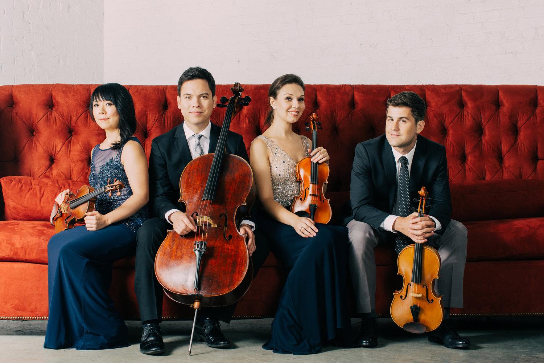 El cuarteto integrado por Amy Schroeder, Alex Fortes, Nathan Schram y Andrew Yoo, se presentará este jueves en el Auditorio Santa Úrsula y el sábado 10 en la Pinacoteca del Monasterio de Santa Catalina en Arequipa. (Foto:SFL)