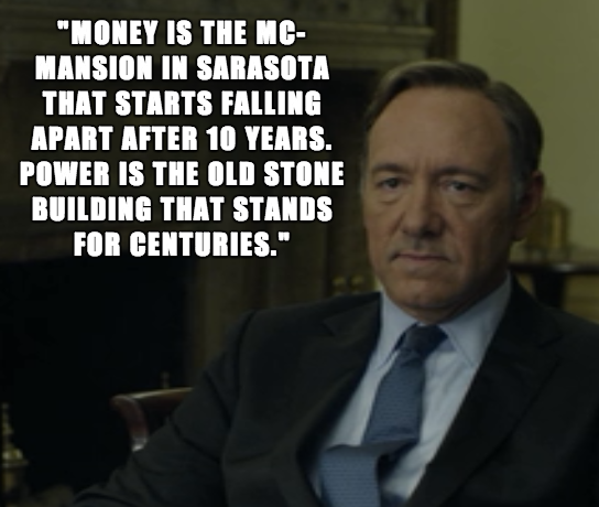 Best House Of Cards Quotes: Frank Underwood Quotes Power. QuotesGram