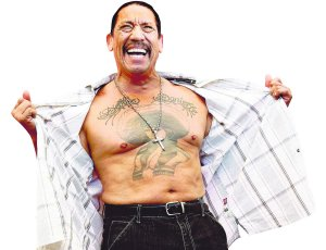 Actor Trejo poses for photographers during photocall at the 67th Venice Film Festival