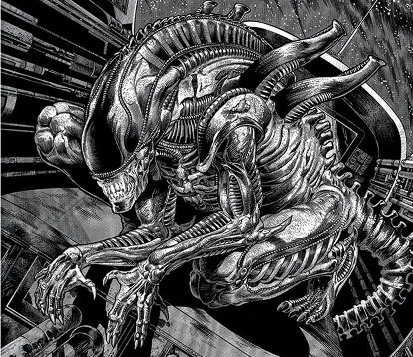 """Hoy se estrena """"Alien: covenant"""", un nuevo filme incubado en las entrañas de esa saga atrapante que es Alien. Segunda precuela del filme original, donde Alien era el octavo (hambriento) pasajero de una nave espacial. Estos seres han protagonizado desde los años 80 varias historias publicadas por Dark Horse, e incluso en ellas han llegado hasta la misma Tierra. Enhonor a esos seres rellenos de ácido, aquí presentamos algunos de los crossovers que han protagonizado en los cómics:  1) BATMAN / ALIENS   En marzo y abril de 1997,..."""
