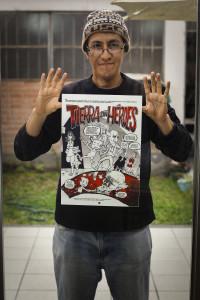 Los antihéroes de Paulo Rivas