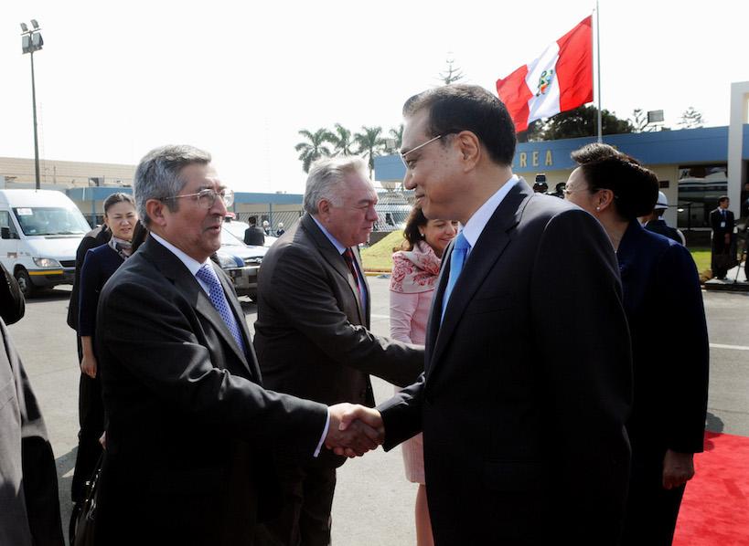Embajador Li Keqiang