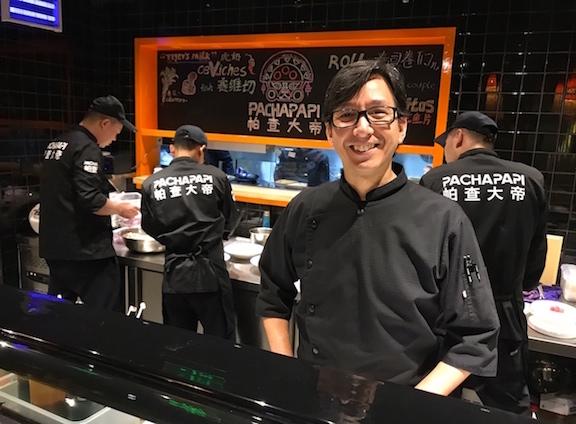 Jaime Ajito, consultor gastronómico de raíces japonesas.