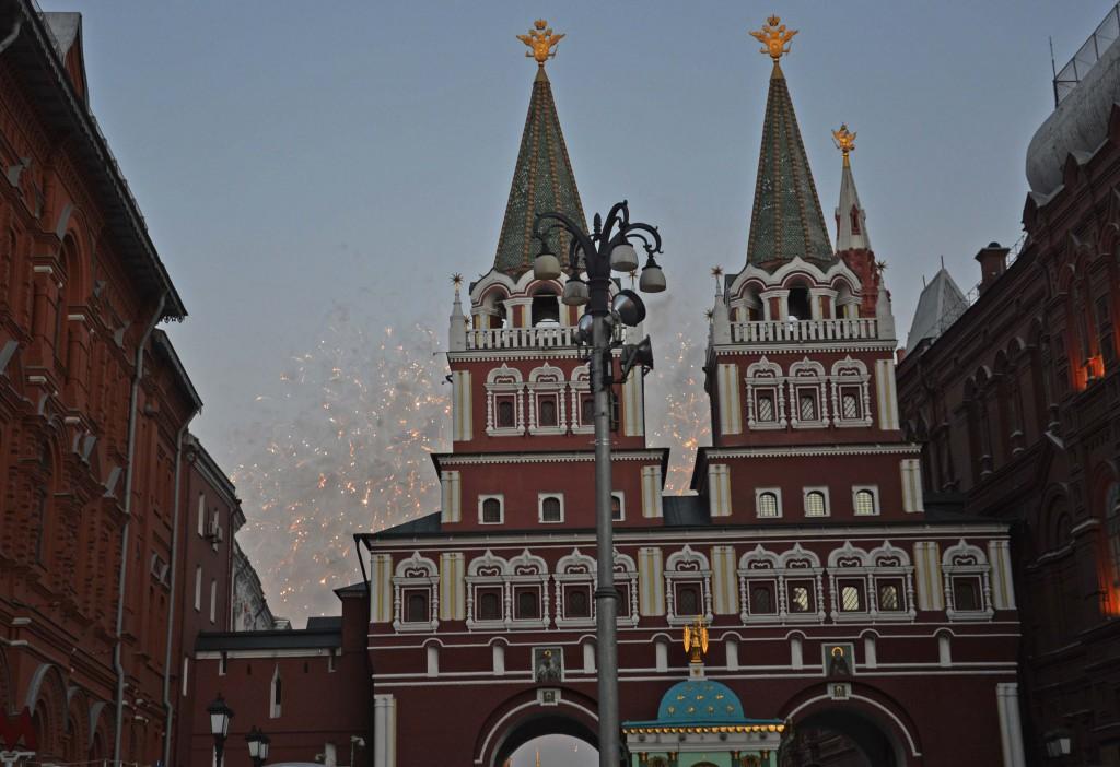 ¿Se puede ser más suertuda y llegar a Moscú en uno de los feriados más importantes del país, el National Day?  (Entiéndase como sus fiestas patrias).