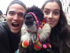¿Quién dijo que no habían Peruanos viajando por el mundo?