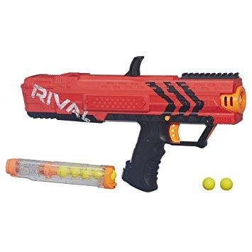 Dejemos algo en claro. Si bien a mi hijo le vacilan los NERF, aún continúa usando las versiones con las municiones cilíndricas. Hace unos días la gente de Hasbro me prestó su nuevo producto, las NERF Rival. Sin dudas, toda una sorpresa.