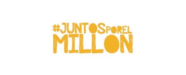 #Juntosporelmillon