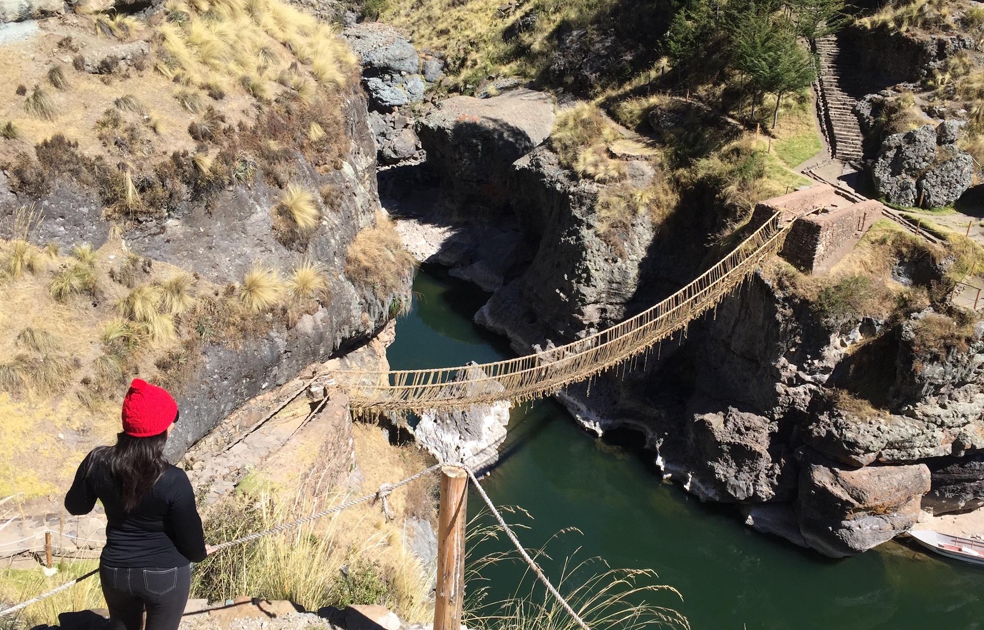 Puente Inca Abre