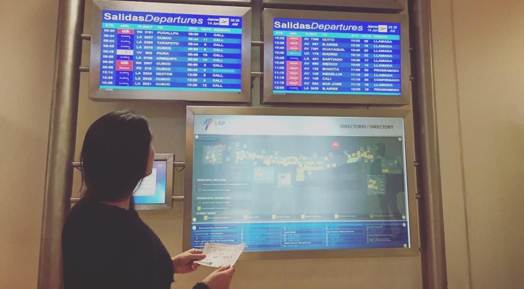 Aeropuerto Lima @ChecklistViajero