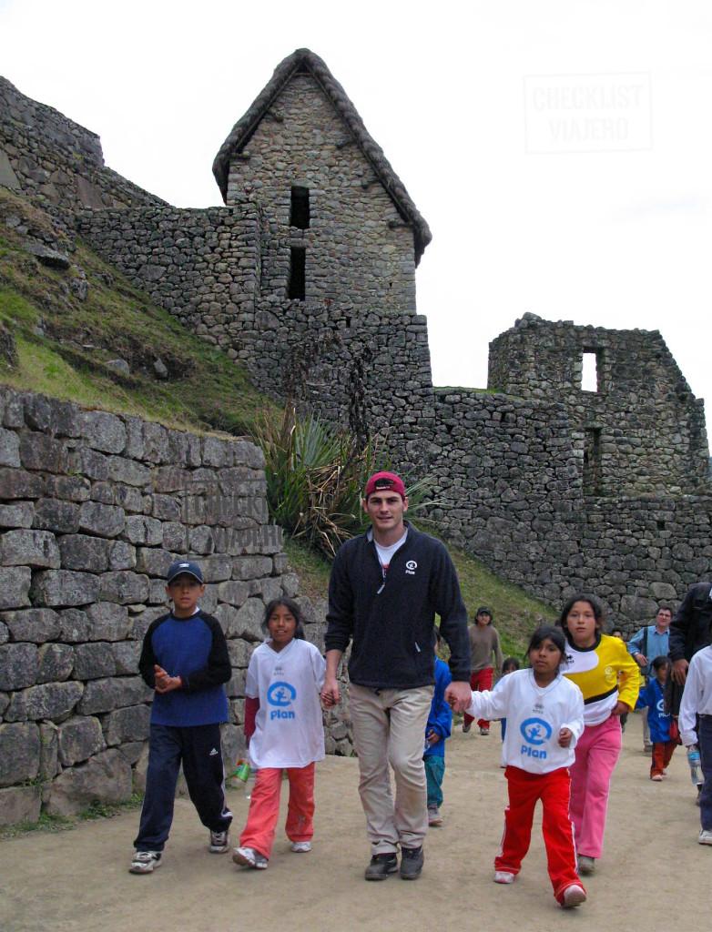 Iker Casillas-Machu Picchu