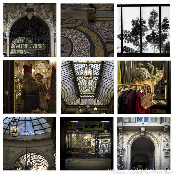 Un Paseo por los pasajes cubiertos de París