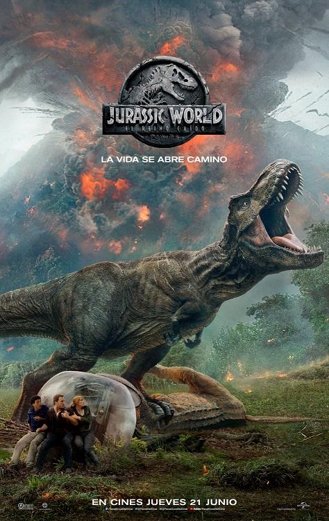 Jurassic World: El reino caído, la última entrega de la saga Jurassic Park, estrena nuevo trailer y nuevo afiche, y aquí los compartimos.