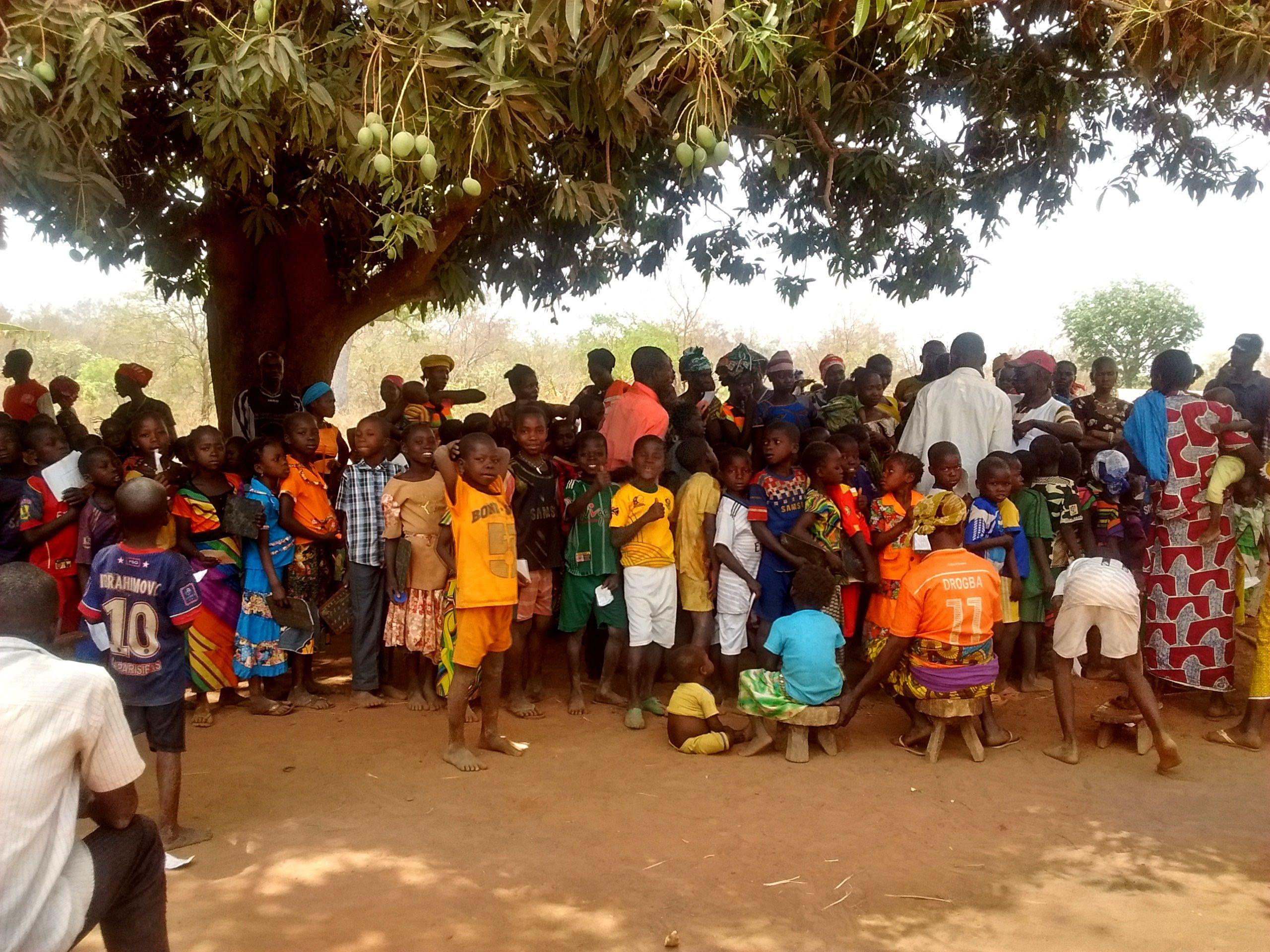 """República Centroafricana: """"Cuesta creer que este pueblo estuviera vacío hace solo dos días"""""""