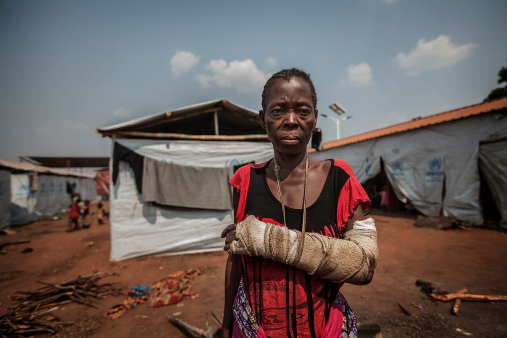 Huir de Congo, refugiarse en Angola