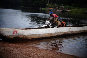 Logistic constraints in Bolomba - DRC