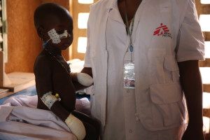 Services in the referral hospital in Ansongo