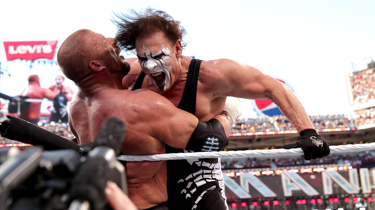 Wrestlemania 31: Sting y Triple H revivieron las 'monday night wars'