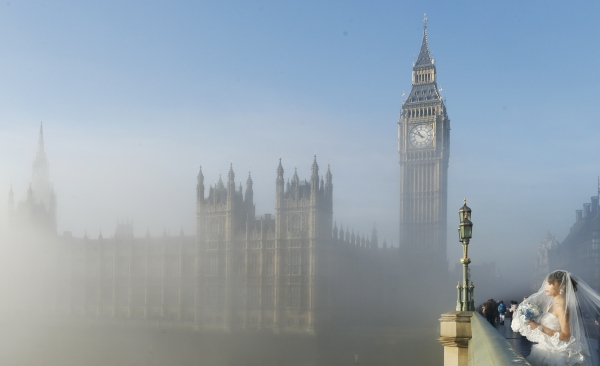 Niebla Londres - Reuters
