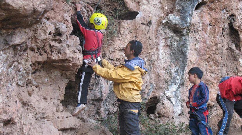 Escalando esperanzas y rocas