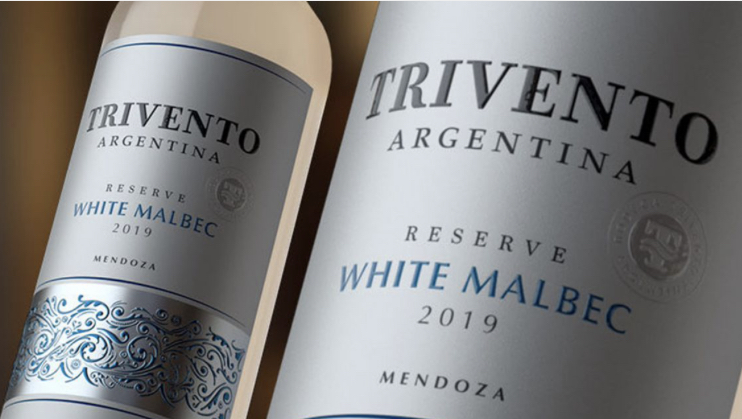 Trivento Reserve White Malbec, brindar ayudando al prójimo