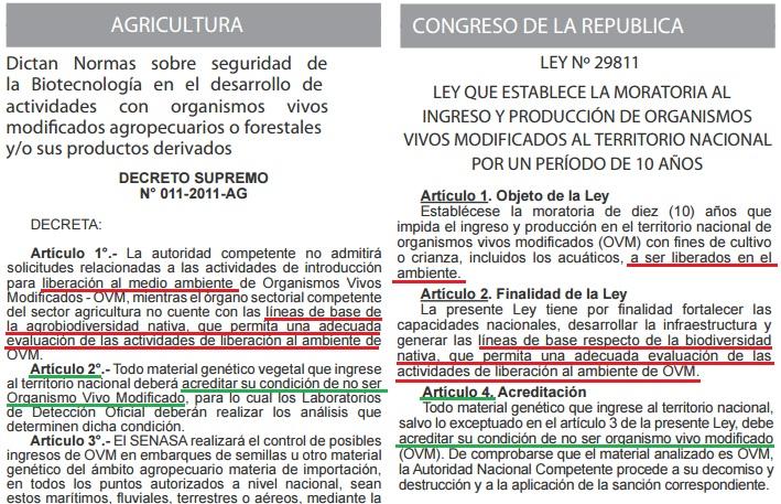 comparacion ley y ds
