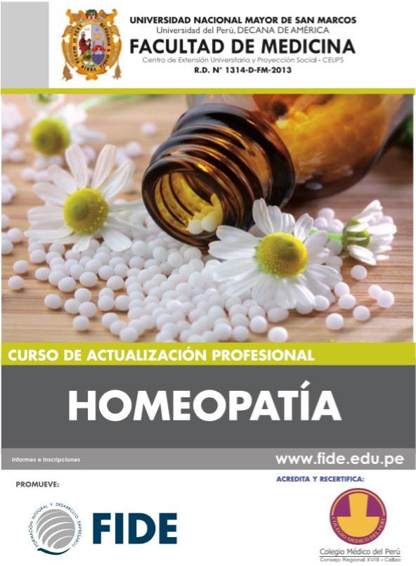 #listavergüenza (1): San Marcos y Colegio Médico auspician curso de homeopatía