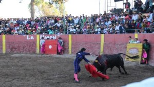 FOTO: PABLO JAVIER GÓMEZ DEBARBIERI ESTOACADA. Espadazo de Serna que le valió una oreja.
