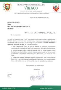 Acuerdo Concejo Viraco Arequipa