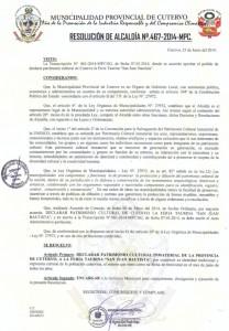 Resoluc Alcaldia 467 MPC (Cutervo)