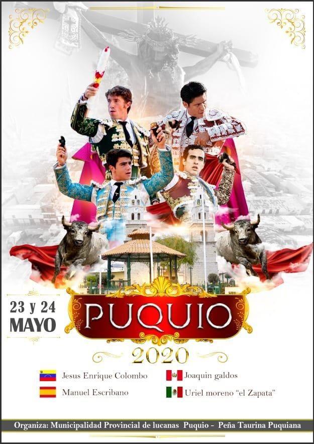 Puquio, en Ayacucho, anuncia una feria taurina con cartel estelar