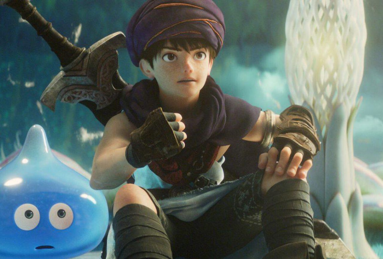 Se revela tráiler de la película de Dragon Quest