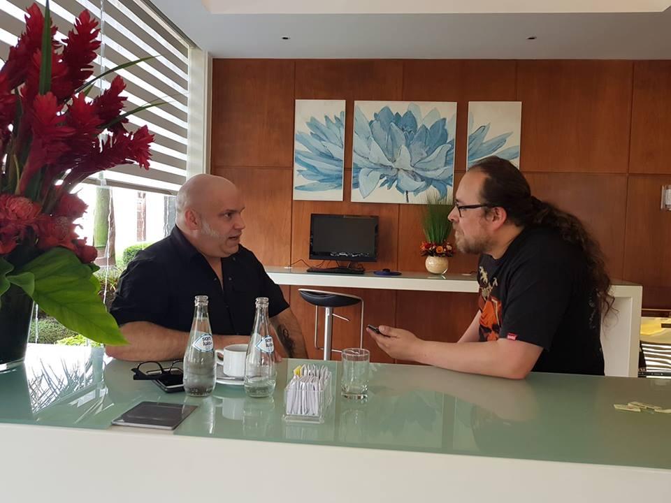 Con ocasión de la presencia del proyecto Metal Singers que reúne a Udo Dirkschneider, Blaze Bayley, Andre Matos y Doogie White. Headbangers conversó brevemente con Blaze, excantante de Iron Maiden en exclusiva entrevista.