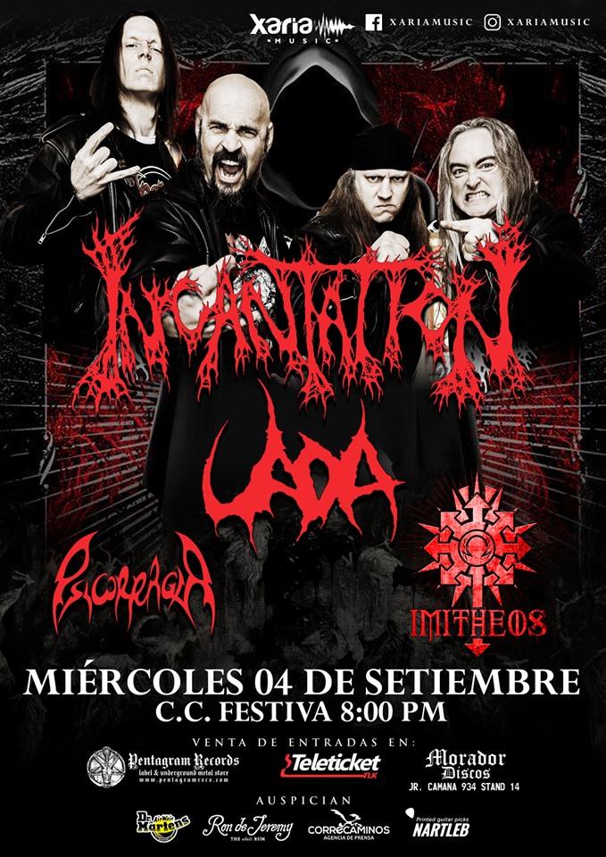 La banda con el sonido extremo más original y único del death metal retorna al Perú, en un concierto que está entre los más esperados por la comunidad headbanger local