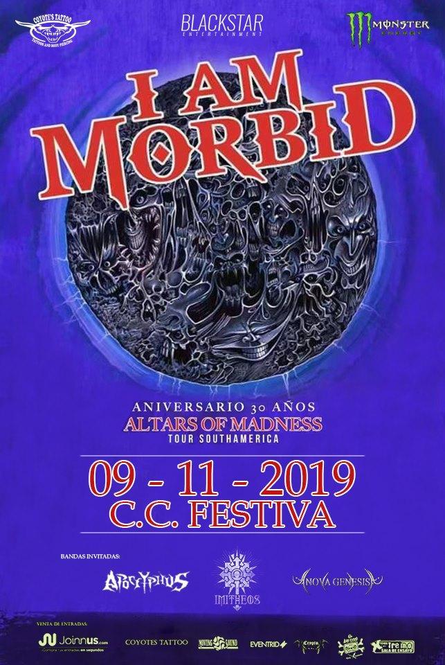 I Am Morbid en el Perú: el tributo de David Vincent a su propia obra en Morbid Angel