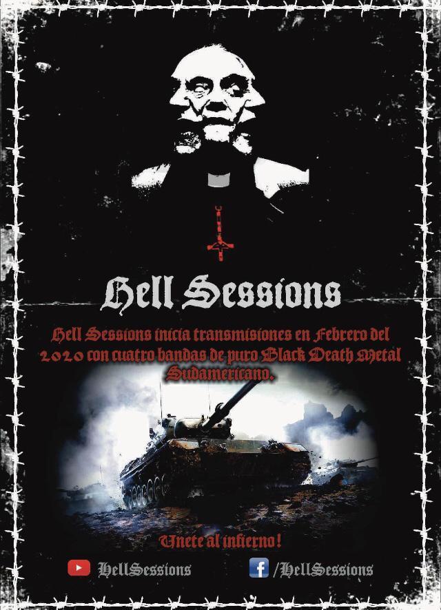 Hell Sessions, las sesiones del metal extremo peruano, retornan el 2020 muy renovados