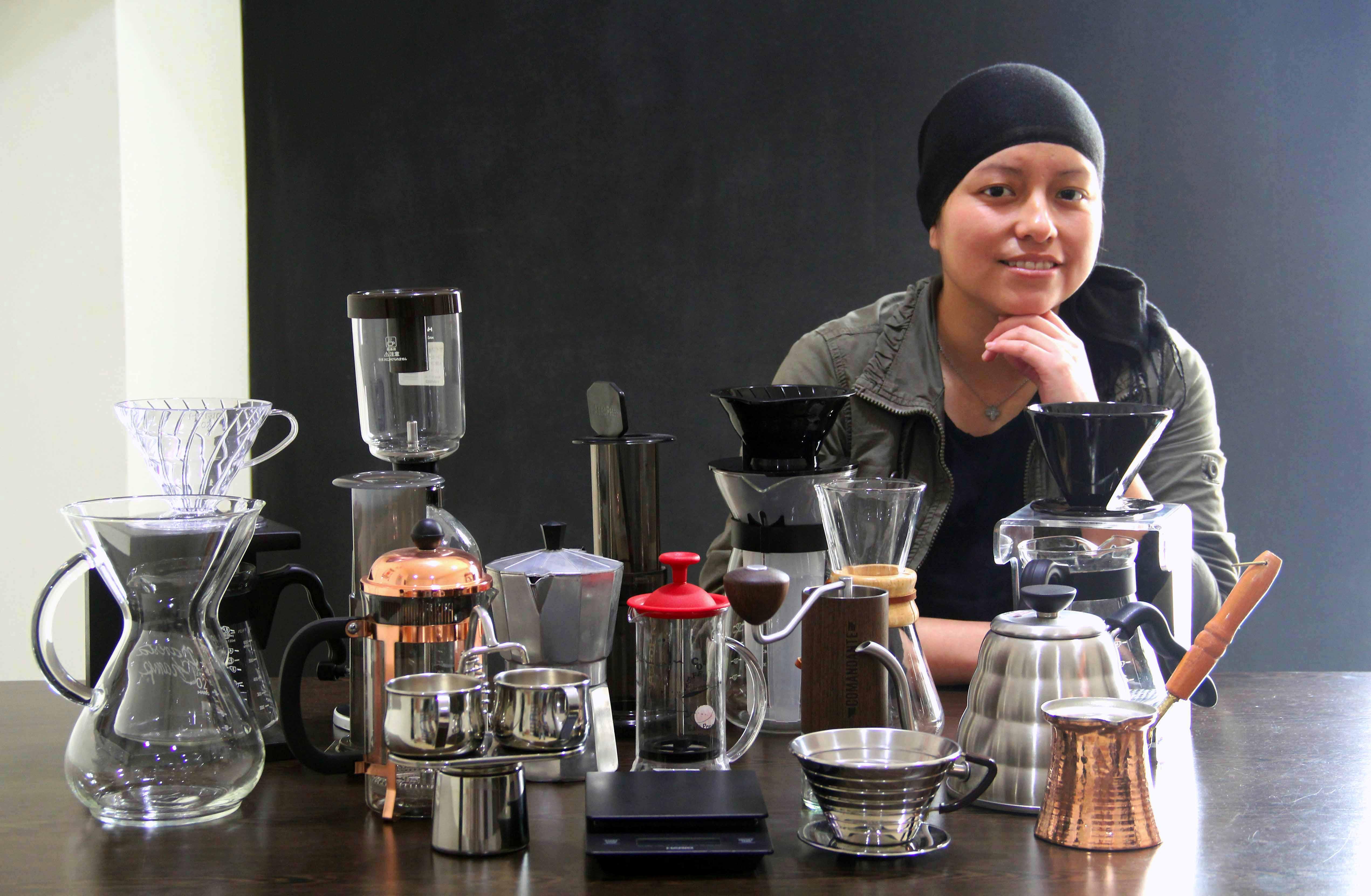 Métodos para extraer café según una de las mejores baristas del país