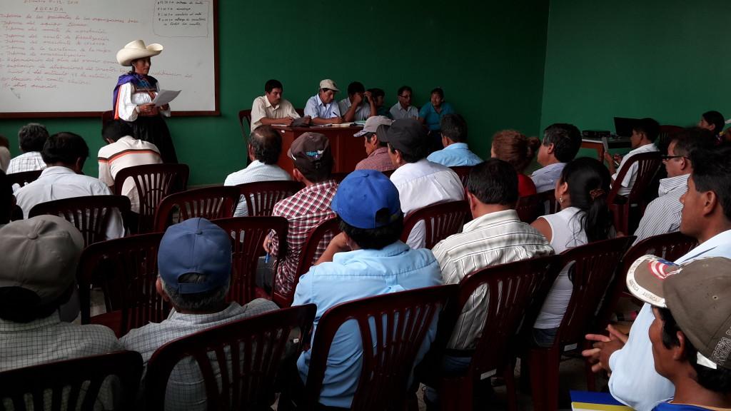 Paula Chavez Gomez_Presidenta de Asociación Femenina de Cafe y Quinua