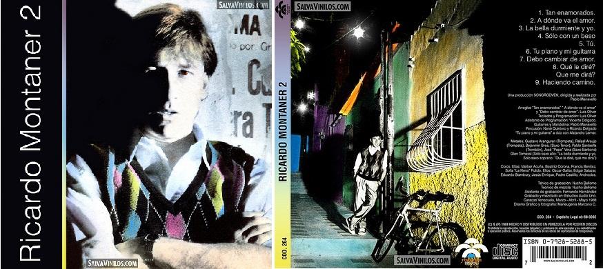 """""""Ricardo Montaner 2"""", álbum de 1988."""