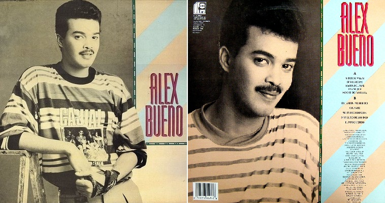 """""""Alex Bueno"""", álbum de 1990 que incluyó """"El jardín prohibido""""."""