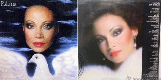 """""""Paloma"""", disco de 1984 que incluyó """"Por qué me abandonaste""""."""