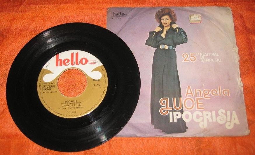 """""""Ipocresia"""", disco sencillo de 1975."""