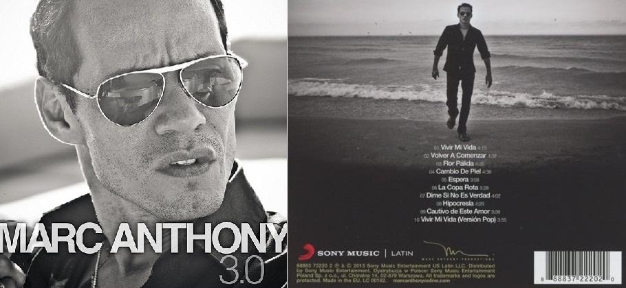 """""""3.0"""", álbum de 2013 que incluyó la salsa """"Hipocresía""""."""
