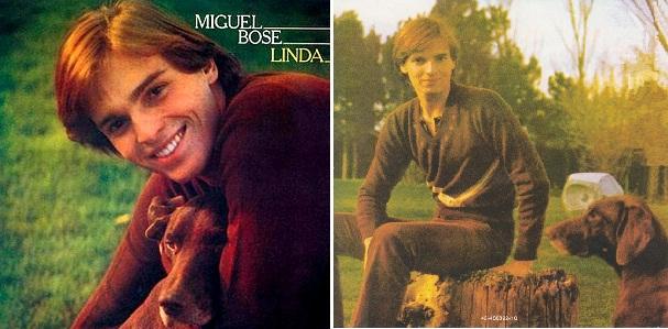 """""""Linda"""", primer álbum de Miguel Bosé en 1977."""