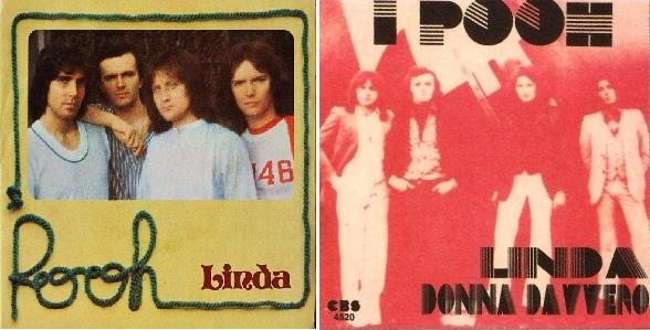 """Linda"", disco sencillo de 1976."