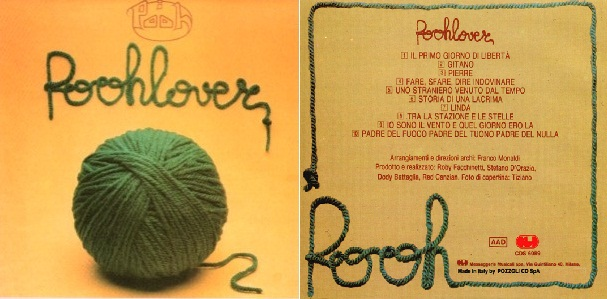 """""""Poohlover"""", álbum de 1976 que incluyó """"Linda""""."""